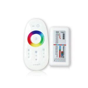 Controller cu telecomanda touchscreen RGBW FUT027