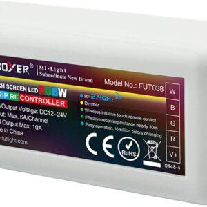 Controller Banda LED 4 zone RGB+CCT 2.4 Ghz, 10A FUT039