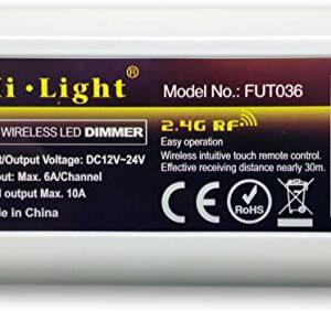 Controller Banda LED Monocolor, 10A 2.4 Ghz FUT036